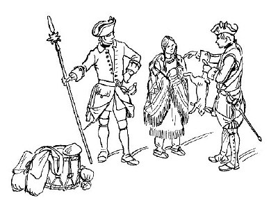 French and indian war drawing for kids rsp 400x288 jpeg for French and indian war coloring pages